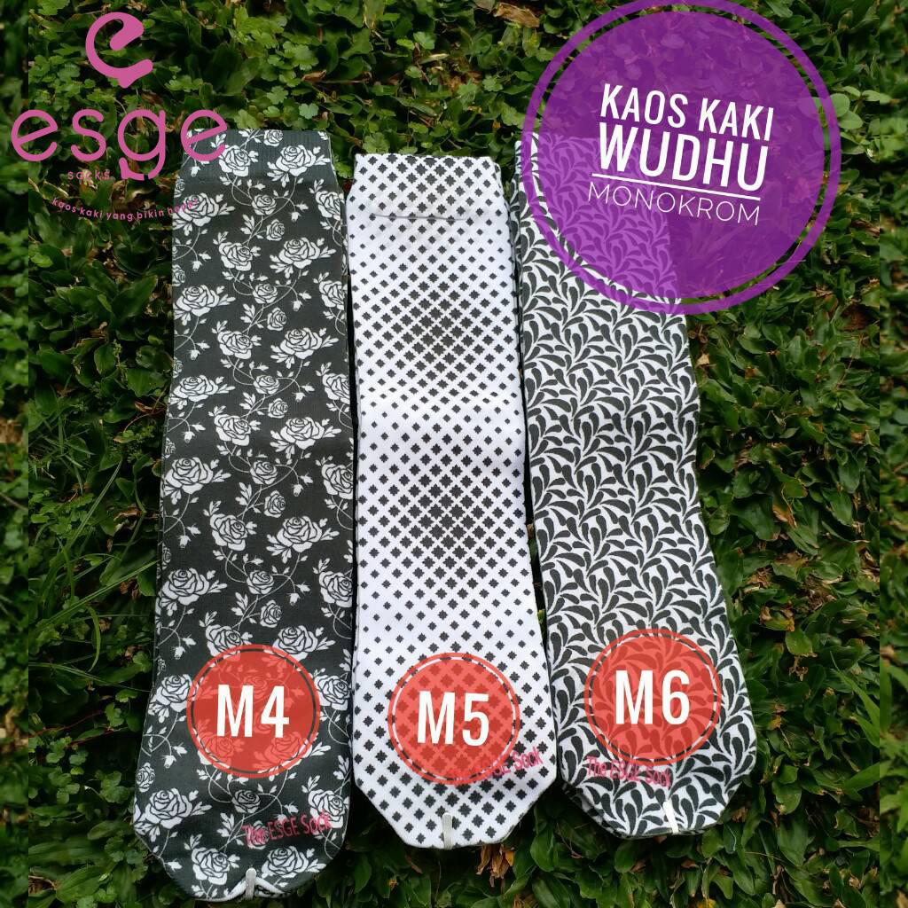 Kaos Kaki Wudhu Monokrom M4-6 Esge Socks