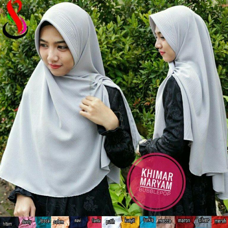 Khimar Maryam 32 35 45 580 SG Jilbab