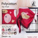 Polycotton Umama 26 29 38 460 SG Jilbab Design 05