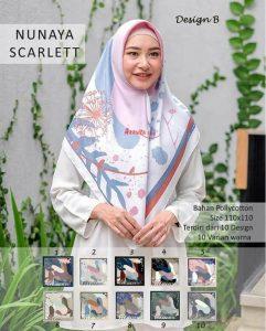 Segi Empat Nunaya Scarlett B