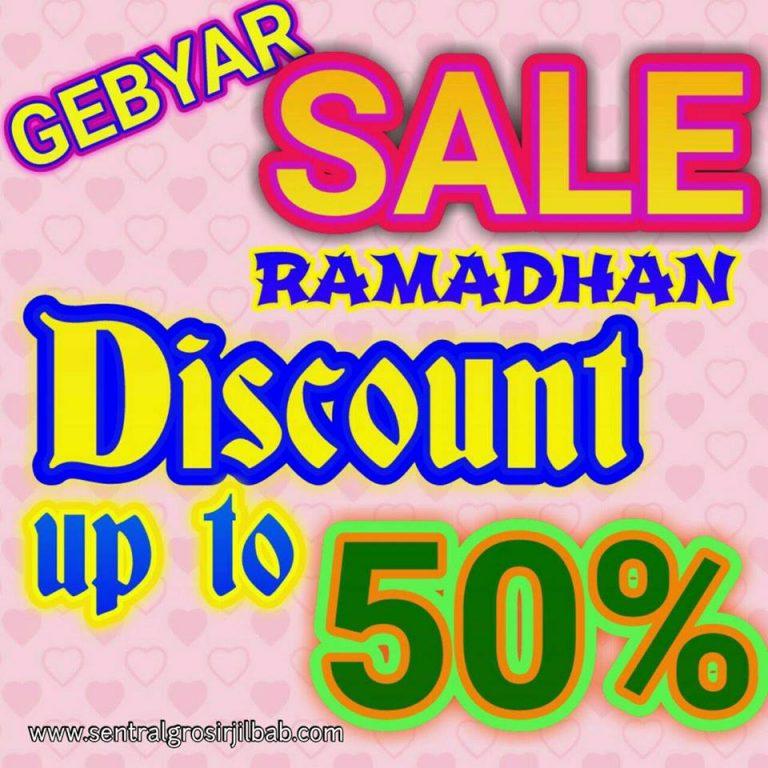 Gebyar Sale Ramadhan SG Jilbab