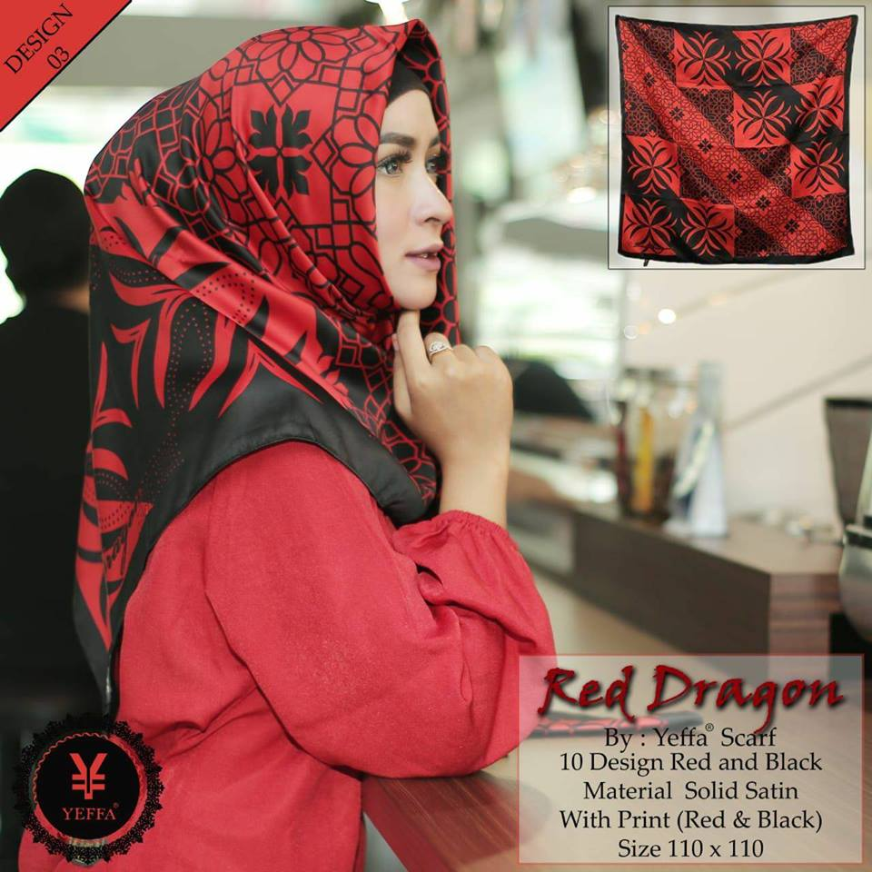Red Dragon 27 30 40 490 SG JIlbab Design 03