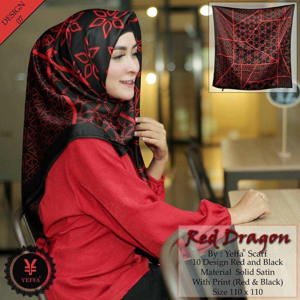Red Dragon 27 30 40 490 SG JIlbab Design 07