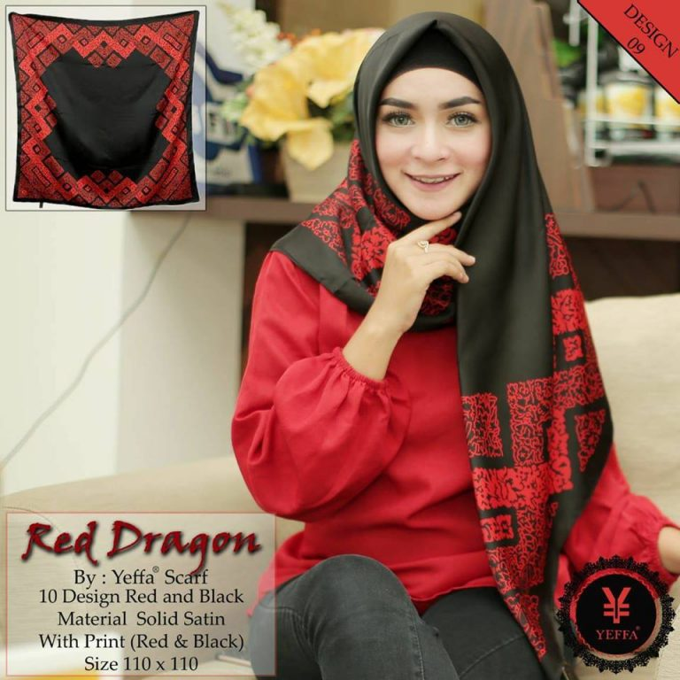 Red Dragon 27 30 40 490 SG JIlbab Design 09