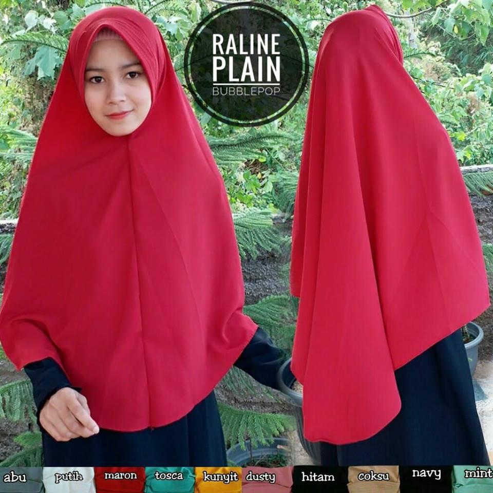 Raline Plain 30 33 45 550 SG Jilbab
