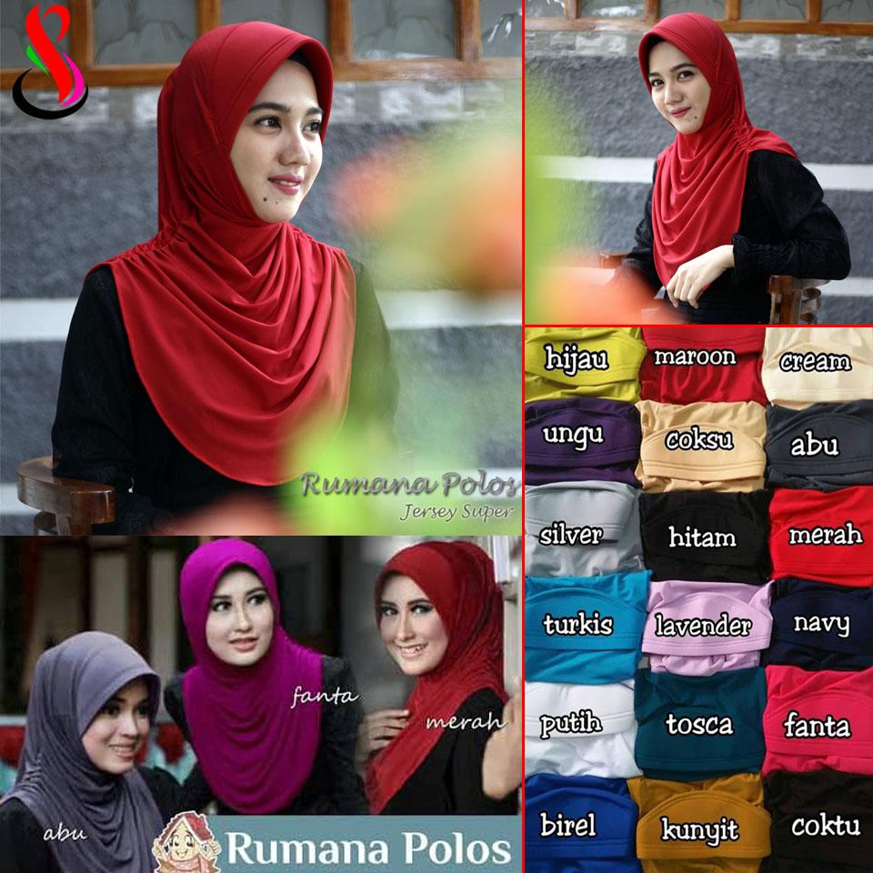 Rumana Polos SG Jilbab Daily Hijab