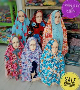 SALE STOCK Khimar 25