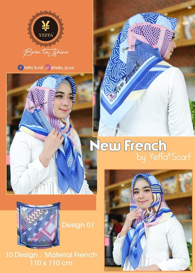 Segiempat New French 27 30 40 490 SG Jilbab 01