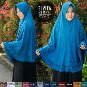 Kerudung Syar'i Elvita Rempel
