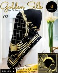 Segi Empat Golden Silk 2