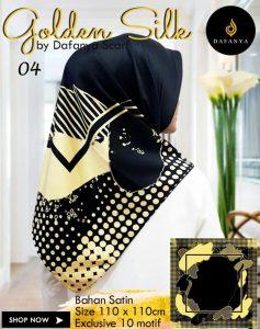 Segi Empat Golden Silk 4