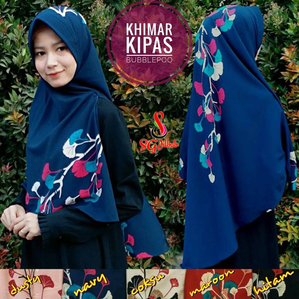 Khimar Kipas 34 37 50 610 SG Jilbab