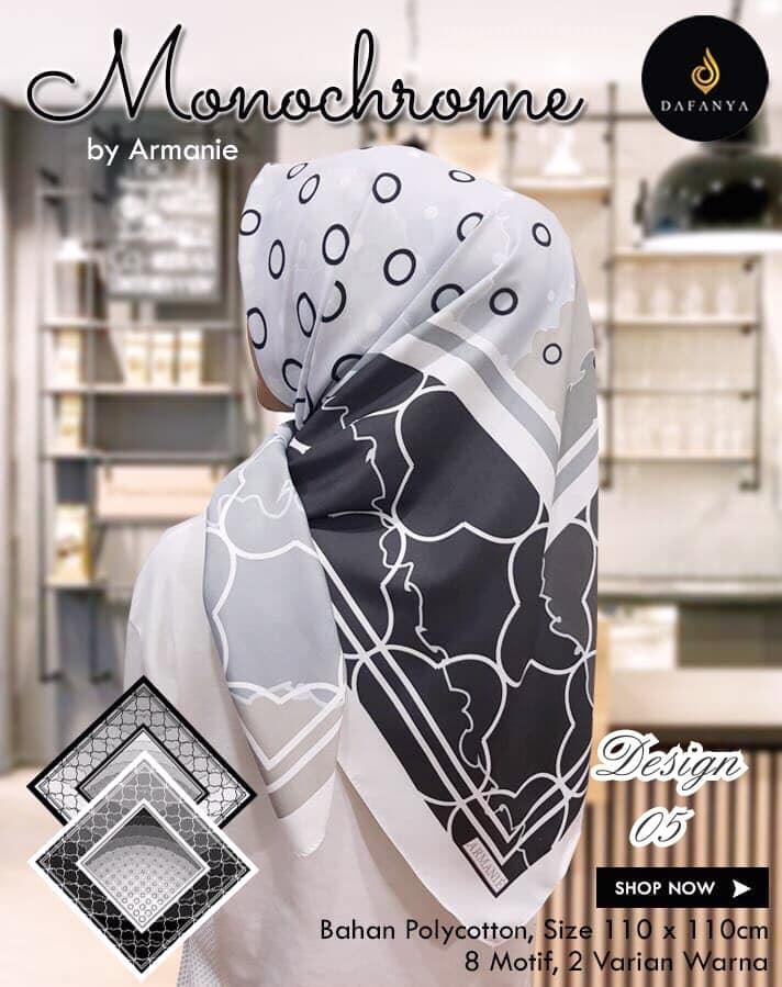 Monochrome Armanie 27 30 40 490 Dafanya SG Jilbab 05