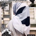Monochrome Armanie 27 30 40 490 Dafanya SG Jilbab 06