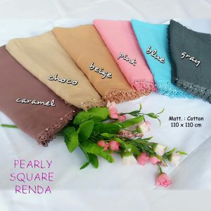 Renda Pearly Square 25 28 35 440 SG Jilbab C