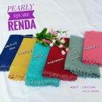 Segi Empat Renda Pearly Square (Kanzo Pearls)