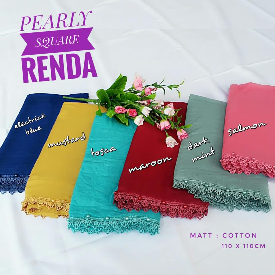 Renda Pearly Square 25,28,35,440 SG Jilbab
