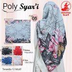 Segiempat Poly Syar'i Motif 35 38 50 650 by Umama Scarf SG Jilbab Design 05