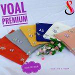 Segi Empat Voal Premium Craft