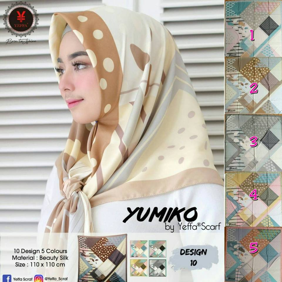 Yumiko 27 30 40 490 SG Jilbab 10