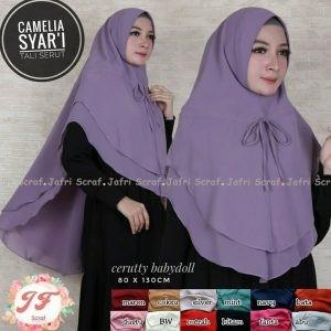 Khimar Camelia Syar'i