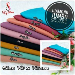 Diamond Jumbo Square 40 43 55 740 SG Jilbab