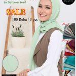 Hijab Cornskin dafanya Sale 100 3pcs