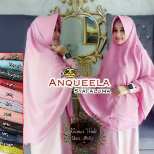 Khimar Wolit by Anqueela