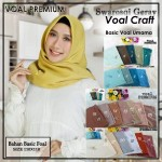 SALE STOCK Segi Empat Voal Premium Craft