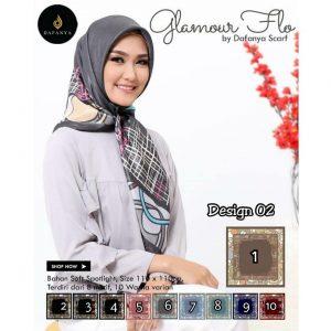 Glamour Flo 30 33 40 550 SG Jilbab Design 02