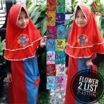 Jilbab Anak Flower 2 List