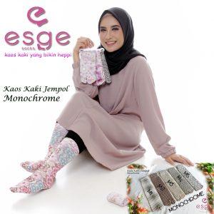 Kaos Kaki Jempol Dewasa Monochrome SG Jilbab