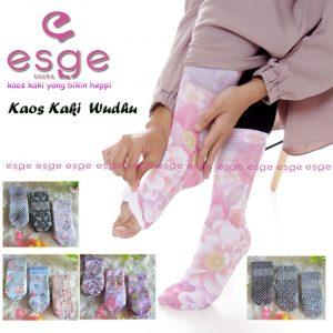 Kaos Kaki Wudhu Motif The Esge Socks SG Jilbab