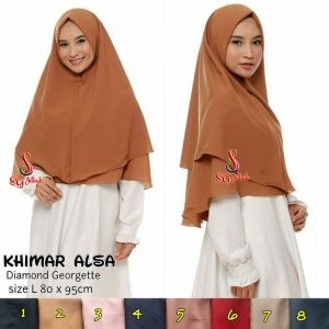 Khimar Alsa Premium