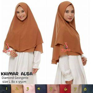 Khimar Alsa 55 58 70 1.040 SG Jilbab