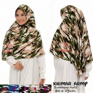 Khimar Army 34 37 50 610 SG Jilbab