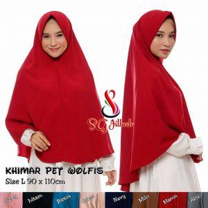 Khimar Pet Wolfis 48 51 65 880 SG Jilbab