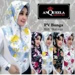 Jilbab PV Bunga  Anqueela