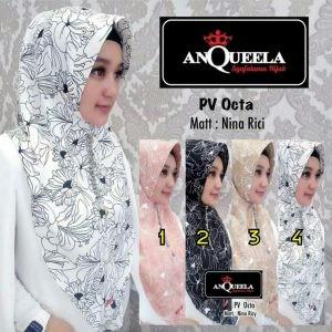 Jilbab PV Octa Anqueela