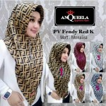 Jilbab PV Fendy Red K