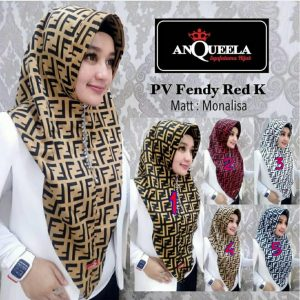 PV Fendy Red K 33 36 45 600 by Anqueela SG Jilbab