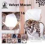 Segiempat Velvet Macan Umama 16