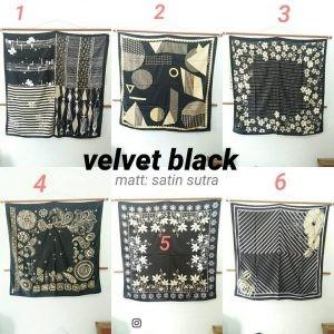 SALE VELVET BLACK