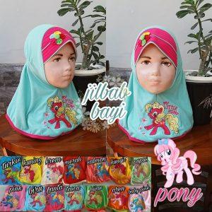 Jilbab Bayi Pony SG Jilbab