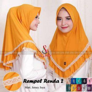 Hijab Rempel Renda 2