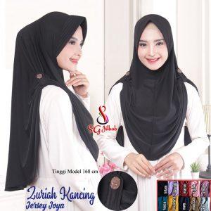 Hijab Zuriah Kancing