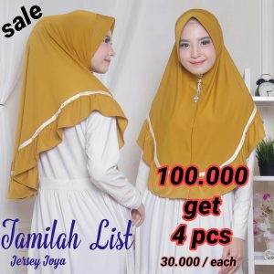 SALE STOCK Hijab Jamilah List
