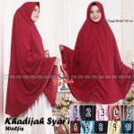 Hijab Khadijah Syar'i Wolfis