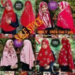 SALE STOCK Hijab Khimar Motif