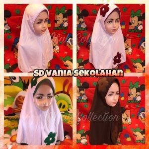 Jilbab SD Vania Sekolah